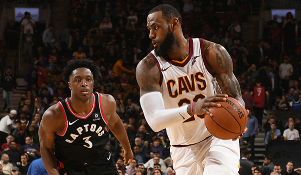 Cavs' Road Woes Continue in Toronto