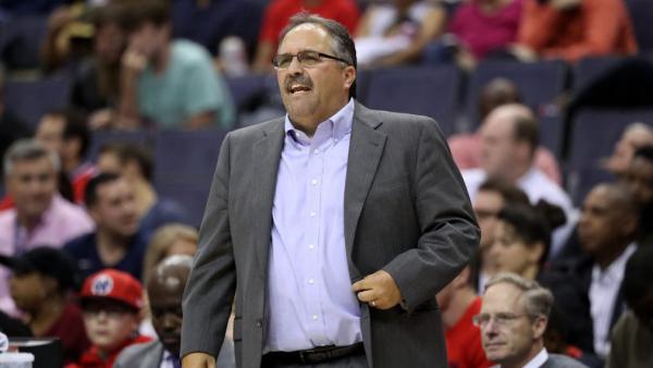 Stan Van Gundy backs off feud with ESPN ahead of televised Pistons game
