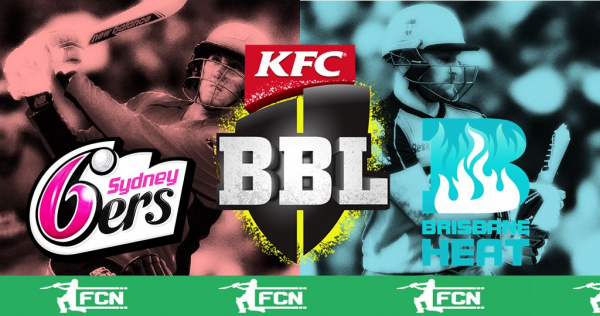 BBL Match 32 – Sydney Sixers V Brisbane Heat – Fantasy Preview