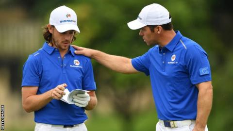 EurAsia Cup: Europe trail Asia by one point after opening day