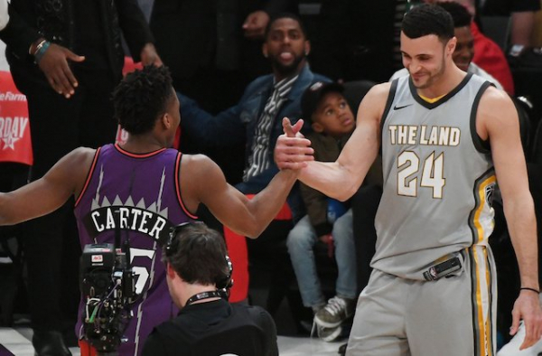NBA All-Star Saturday Night: Nets' Spencer Dinwiddie Enjoys Homecoming, Suns' Devin Booker Makes 3-Point Contest History, Larry Nance Jr. Loses Dunk Contest To Donovan Mitchell