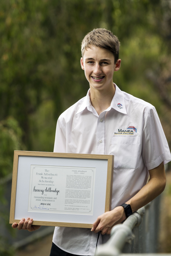 Young musician wins support to reach for stars