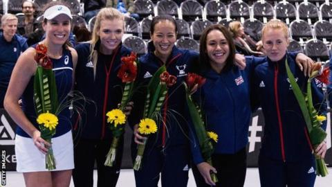 Fed Cup: Great Britain to play Japan in World Group II play-off