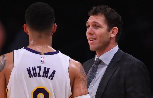 Luke Walton Is 'Proud' Of The Way Lakers 'Fought Through Adversity' This Season