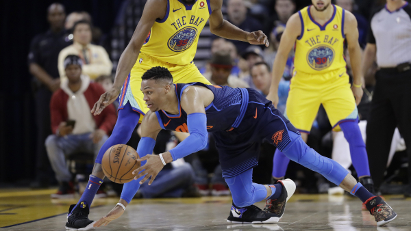 "Russell Westbrook, Paul George call out Zaza Pachulia for ""dirty"" fall on Westbrook"