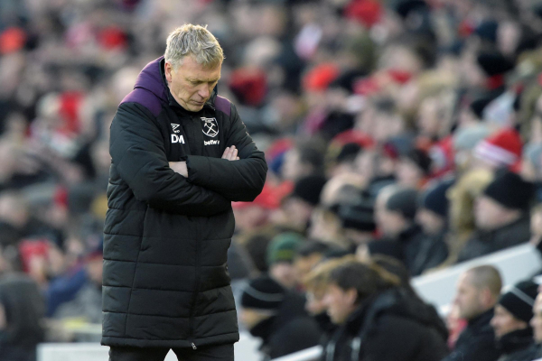 West Hams individual mistakes allowed Liverpool front three to run riot at Anfield, says David Moyes