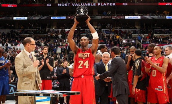 This Day In Lakers History: Kobe Bryant Earns 4th Career All-Star Game MVP