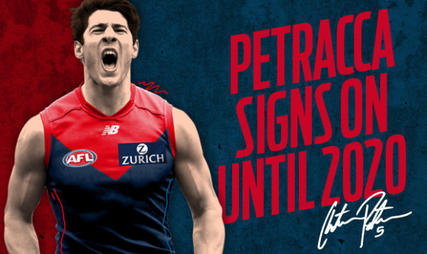 Petracca extends until 2020