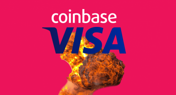 Breaking: VISA officially blames cryptocurrency overcharge scandal on Coinbase