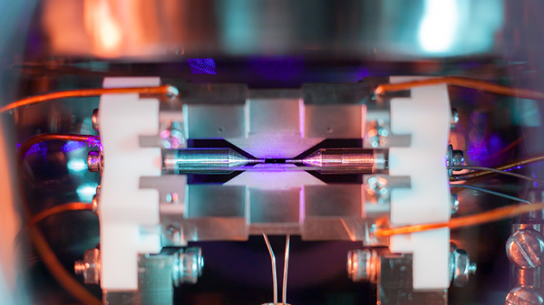Photo of a single atom wins science photography prize
