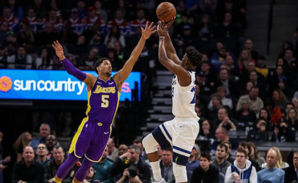 Jimmy Butler, Timberwolves Take Control In 4th Quarter To Hand Lakers 3rd Consecutive Loss