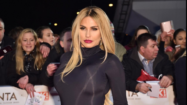 Katie Price devastated at dog's death