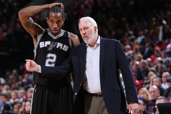 Spurs, Kawhi Leonard have those in NBA circles wondering about trade