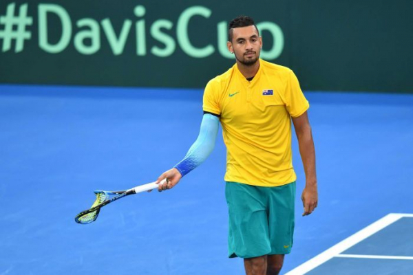 Australia out of Davis Cup after Kyrgios loses to Zverev