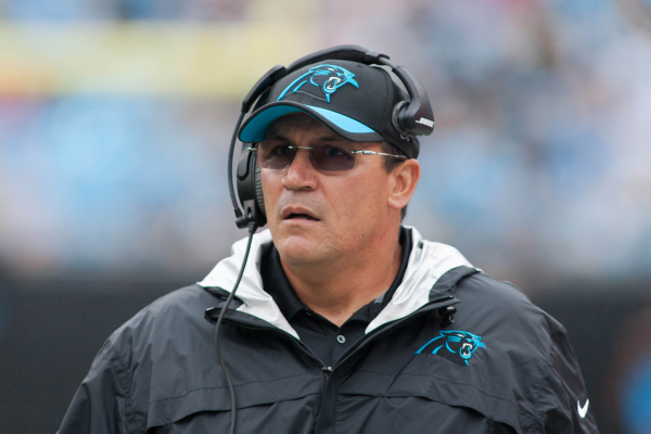 Panthers coach Ron Rivera went curling, realized it was very difficult