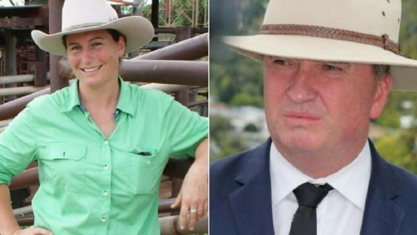 Catherine Merriott determined to see Barnaby Joyce face justice for alleged sexual harassment