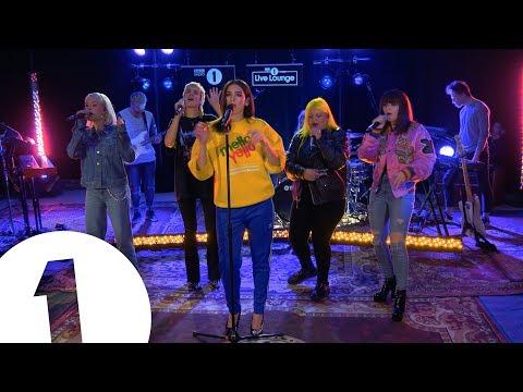 Watch Dua Lipa, Charli XCX, Alma, and MØ perform 'IDGAF' in BBC's Radio 1 Live Lounge