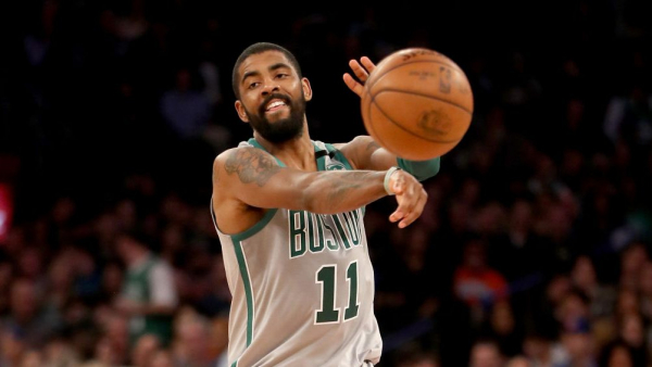 Watch Kyrie Irving drop 31 on Knicks in Celtics' win