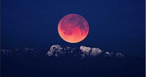 The most breathtaking photos of Wednesday's super blue blood moon