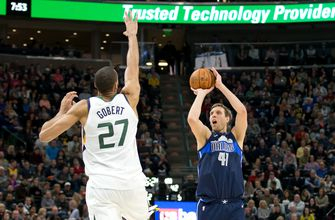 Jazz edge Mavericks 97-90 for 12th win in 13 games