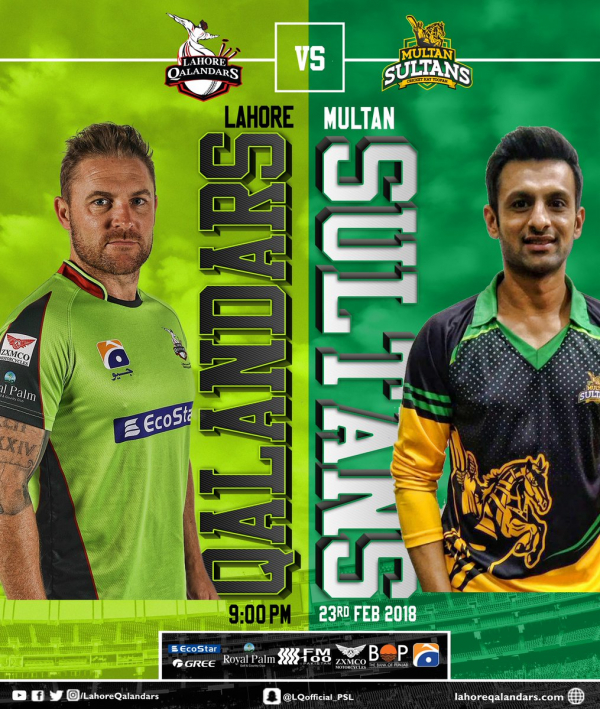 PSL – 3rd Match – Multan Sultans vs Lahore Qalandars – Fantasy Preview
