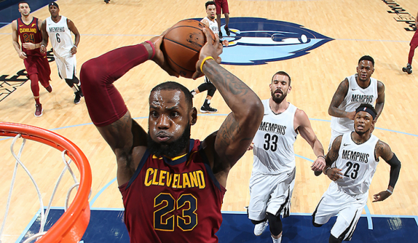 Cavs Overcome Slow Start, Route Grizz in Memphis