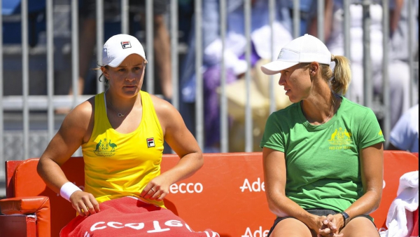 Australia draw home Fed Cup tie in April