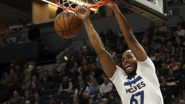 Taj Gibson, Jimmy Butler lead Timberwolves rally past Lakers, 119-111