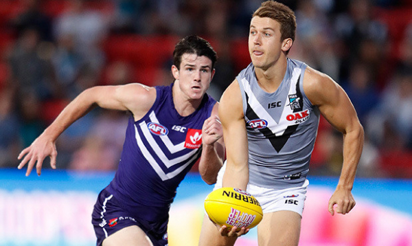 Positive signs for Port youngsters in AFLX