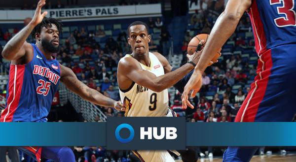 Pelicans shootaround update presented by HUB International: Rajon Rondo experiences memorable weekend in Brooklyn, Boston