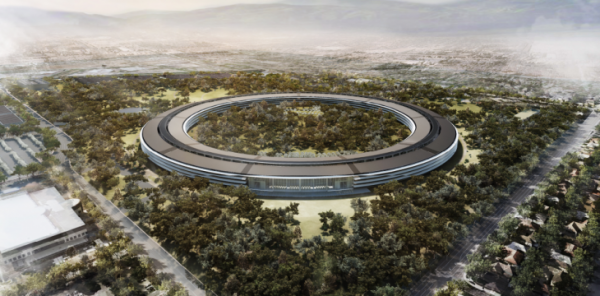 Apple employees keep running into walls at its new spaceship campus