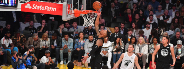 Lillard Scores 21 But Team Stephen Falls To Team LeBron At 2018 All-Star Game