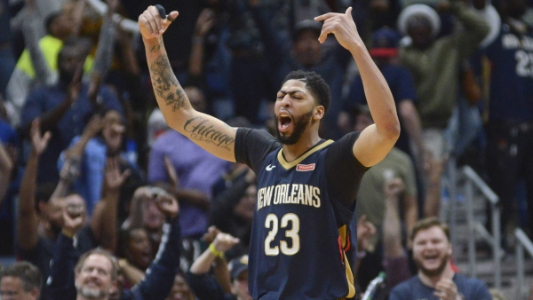 Jrue Holiday hits game winner, Anthony Davis has 45, Pelicans beat Heat in OT, 124-123