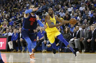 Durant, Warriors get first win over Westbrook, Thunder this season