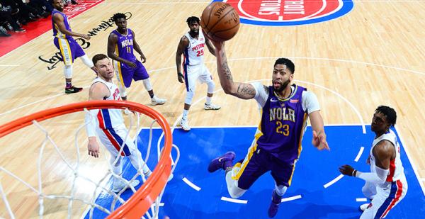 Postgame recap: Pelicans 118, Pistons 103