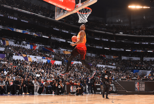 Every Dunk from the 2018 NBA Verizon Slam Dunk Contest