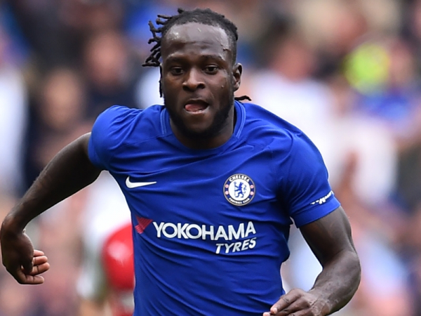 Chelsea's Victor Moses set sight on crunch Manchester United tie