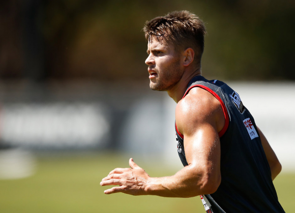 Saint strips weight after he 'ballooned out'