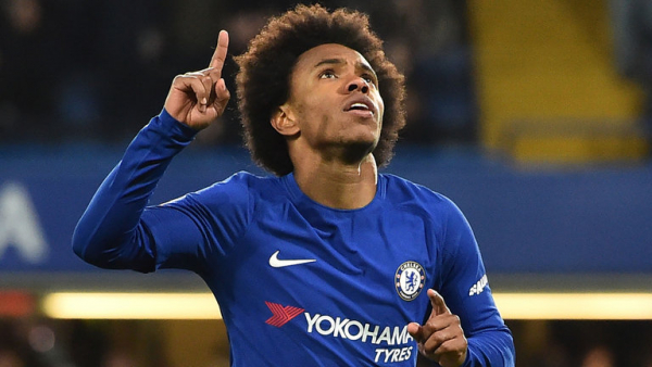 Willian: Jose is a Chelsea great