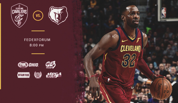 #CavsGrizzlies Game Preview - February 23, 2018