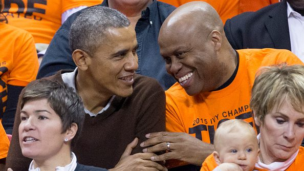 Barack and Michelle Obama have become Knicks fans, Craig Robinson says