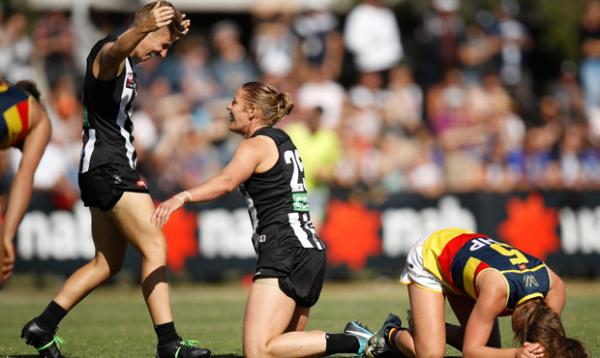 Report: Magpies end Crows GF dreams