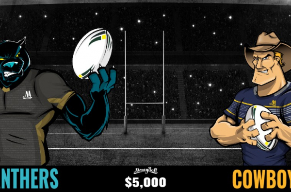 NRL $5,000 COWBOYS VS PANTHERS SPECIAL