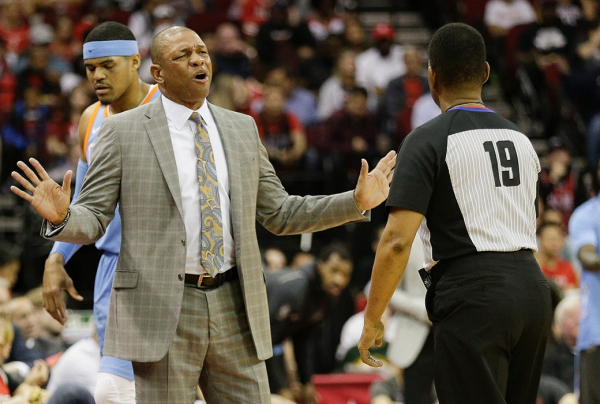Doc Rivers Rips Officials After Loss To Rockets