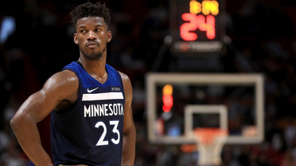 Jimmy Butler targeting return to Timberwolves before end of season