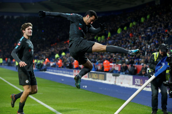 Leicester City 1 Chelsea 2: Pedros extra-time goal sends Blues into FA Cup semi-finals