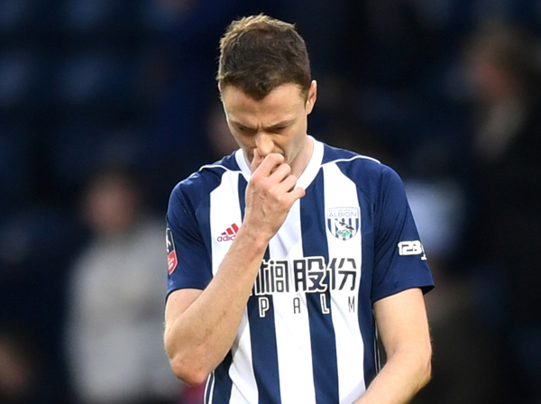 Jonny Evans reveals West Brom players cried after last-gasp defeat to Bournemouth