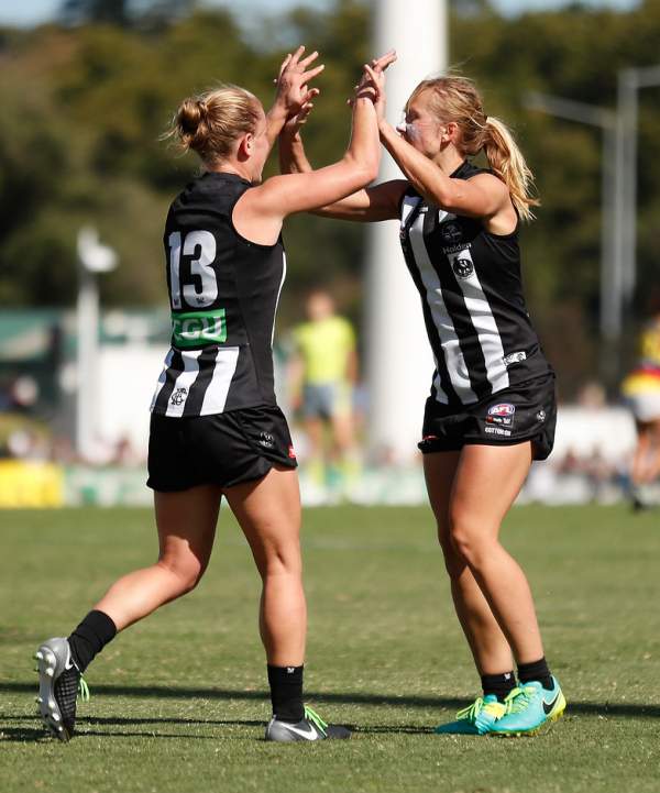 AFLW match report: Pies end Crows' charge