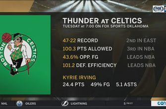 OKC Thunder at Boston Celtics preview | Thunder Live