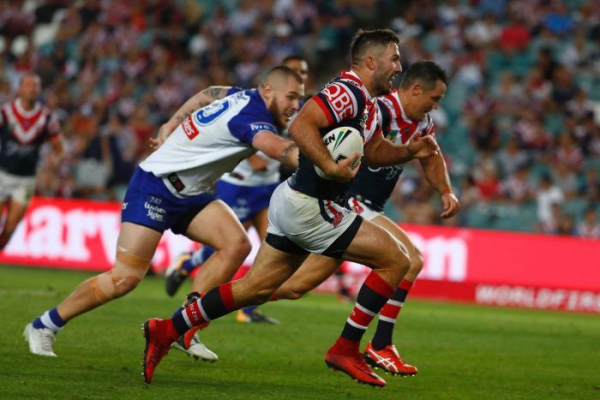 Roosters trample Bulldogs as Brisbane hold off Cowboys